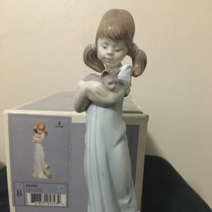 Lladro Don't Forget Me with box